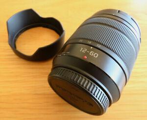 Panasonic Lumix G Vario 12-60mm F3.5-5.6. Micro 4/3 Camera Lens - Near Mint.