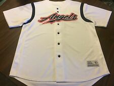 NWOT'GS  CALIFORNIA ANGELS SEWM WHITE JERSEY BY GENUINE MERCHANDISE LARGE 42-44