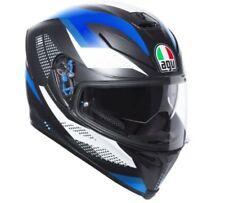 Agv K5-s DVS Sport Casco Integrale Moto - Marmo Nero/bianco/blu XL