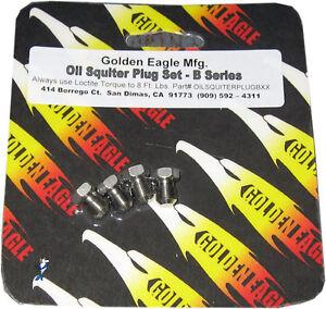 GOLDEN EAGLE Oil Squirter Plug Set OILSQUIRTERPLUGBXX B16A B18C B17