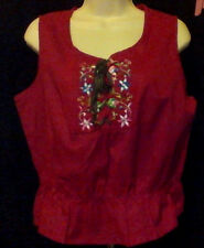 WOMENS TANK top,NWT,SIZE PL