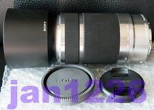 Sony SEL55210 55-210mm OSS Zoom bundle Lens Hood for NEX-5  NEX-7 BEST silver