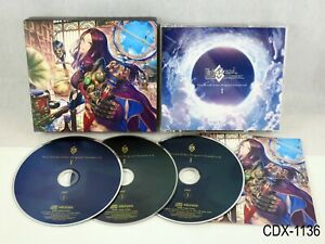 Fate Grand Order Original Soundtrack 1 OST FGO 3 CD Japanese Import US Seller