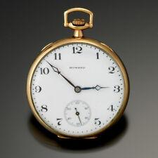 ANTIQUE HOWARD POCKET WATCH CA1915 | 17 JEWEL, 12 SIZE