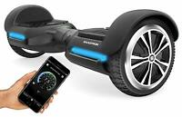 Swagtron Hoverboard T580 Scooter 6In Wheel w Bluetooth Speaker & App Open Box