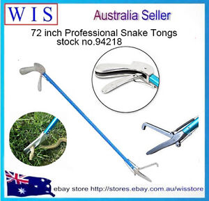 72 inch All-in-One Aluminum Alloy Professional Standard Snake Tong,Snake Catcher