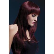Women's Sienna Long Glamour Black Professional Model Wig Two Tone Fancy Dress