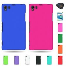 For Sony  Xperia Z1 C6906 Hard Rubberized Matte Phone Cover Case