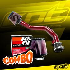 99-05 VW Golf GTI VR6 V6 2.8L Red Cold Air Intake + K&N Air Filter