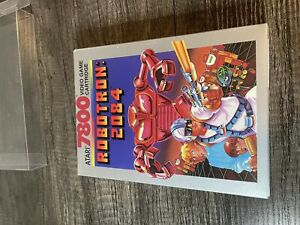 Atari 7800 ROBOTRON 2084 Video Game- Sealed in Box-Never used!!  No Shrink Wrap.