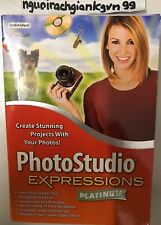 Photo Studio Expressions Version 4 Platinum Creates Projects From Pictures NEW