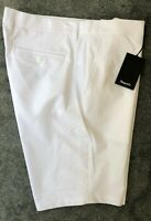 Dwyers Mens Golf Shorts in White Size 38W UK/AU #GM310