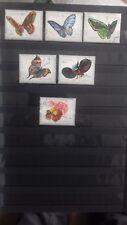 Timbres de Fujeira de 6 timbres pré-oblitérée de 1972