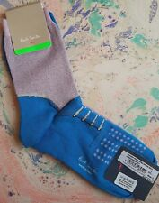 Paul Smith Women Italian Socks Ankle Length Lurex Brogue Lilac F841 Cotton 1Size