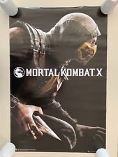 MORTAL COMBAT X,RARE AUTHENTIC LICENSED 2015 POSTER