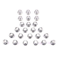 24PCS Chrome 12mmX1.5 Mag Lug Nuts Steel For Toyota Camry Corolla RAV4 Tundra