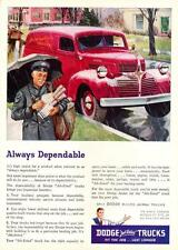Print. 1947 Dodge Panel Truck - Always Dependable - Advertisement