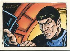 Star Trek TOS Art & Images Gold Key Comic Book Art Chase Card GK29