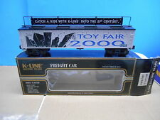 K-LINE K675-7401 2000 NY TOY FAIR VAT CAR.. MINT IN THE BOX
