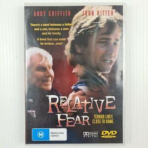 Relative Fear DVD - Andy Griffith - John Ritter - All Regions - TRACKED POSTAGE