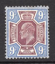 KEDVII 1910 sg 307 -- 9d dull reddish purple & blue Mounted mint with gum.