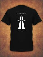 KRAFTWERK AUTOBAHN RETRO TECHNO Mens T-Shirt Black