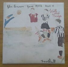 (JOHN LENNON-Walls & Bridges)-BEATLES-ORIGINAL 1ST PRESSING, 1974-F8-LP