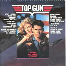 Top Gun: Original Motion Picture Soundtrack by Various Artists (CD, 1986, CBS)