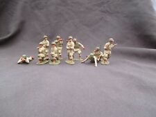 airfix  painted 54mm 1/32  u.s paratroopers airborne same as conte tssd italeri