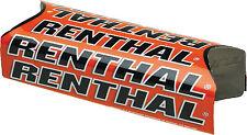 Team Renthal Handlebar Bar Pad Orange Fits Honda Kawasaki Ktm Suzuki Yamaha P276