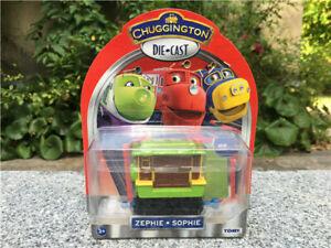 Tomy Chuggington Zephie Metal Diecast Vehicle Toy Train New