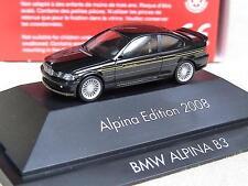 Herpa BMW Alpina B 3 3,3 Coupe Edition 2008 Goldstreifen 101837 OV