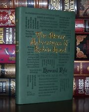 The Merry Adventures of Robin Hood Pyle Unabridged Deluxe Soft Leather Feel Ed