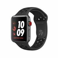 Apple Watch Nike+ Series 3 42mm Smartwatch - Space Gray/Black (MQLD2LL/A)