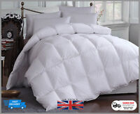 New All Season Hotel Quality Duck Feather & Down Duvet, 15 Tog(10.5 & 4.5)Quilt
