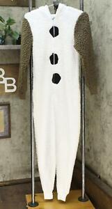 disney Women's Olaf Union Pajama Suit. W791TG-100 White XS