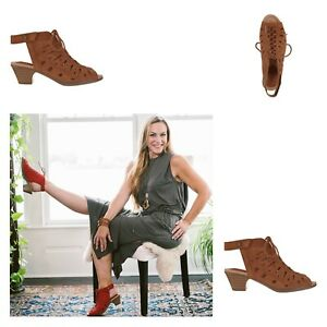 Earth Nubuck Leather Lace-Up Sandals - Kristen | Various Color Size | Choose