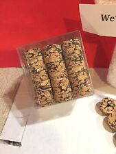100 Pcs mixed Fancy cork rings 1 1/4 x 1/4 x 1/4 bore L&B