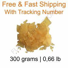 Natural rosin pine resin colophony Flakes 300 grams 0,66 lb 100% Natural genuine