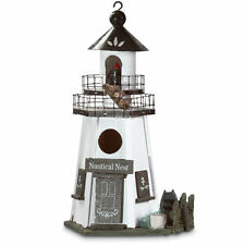 Lighthouse Nautical Nest Bird House