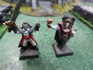Warhammer Fantasy ISABELLA and VLAD VON CARSTEIN Pro Painted Vampire Counts Army