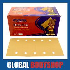CAM BEAR CUB P240 115 X 230MM HOOKIT BLOCK PAPER (100 SHEETS)