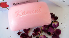 Kamini ROSE Bath Soap 1 Bar India Herbal Vegetable Based Gentle 100g Healing C17