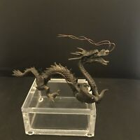 "Bronze Asian Dragon 9"" Long  4"" High"