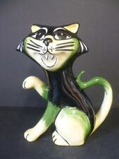 "LORNA BAILEY FIRESIDE CAT ""FELIX"" BRAND NEW LARGE SIZE SIGNED EXTREMELY RARE!!!"