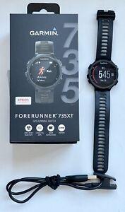 Garmin Forerunner 735XT GPS Running Watch - Black/Grey