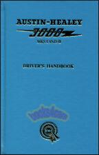 AUSTIN HEALEY OWNERS MANUAL 3000 DRIVERS HANDBOOK 59-64
