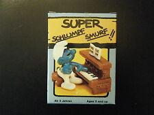 4.0229 SUPER SMURF – PIANO - NEW IN GERMAN BOX