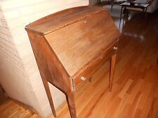 Antique Arts & Crafts Mission quarter sawn oak drop front secretary writing desk