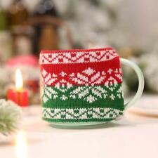 Cover Christmas Snowflake Home Gift Bags Supplies Useful Practical Knitting HO3